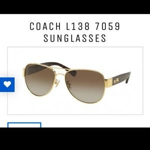 Coach sunglasses